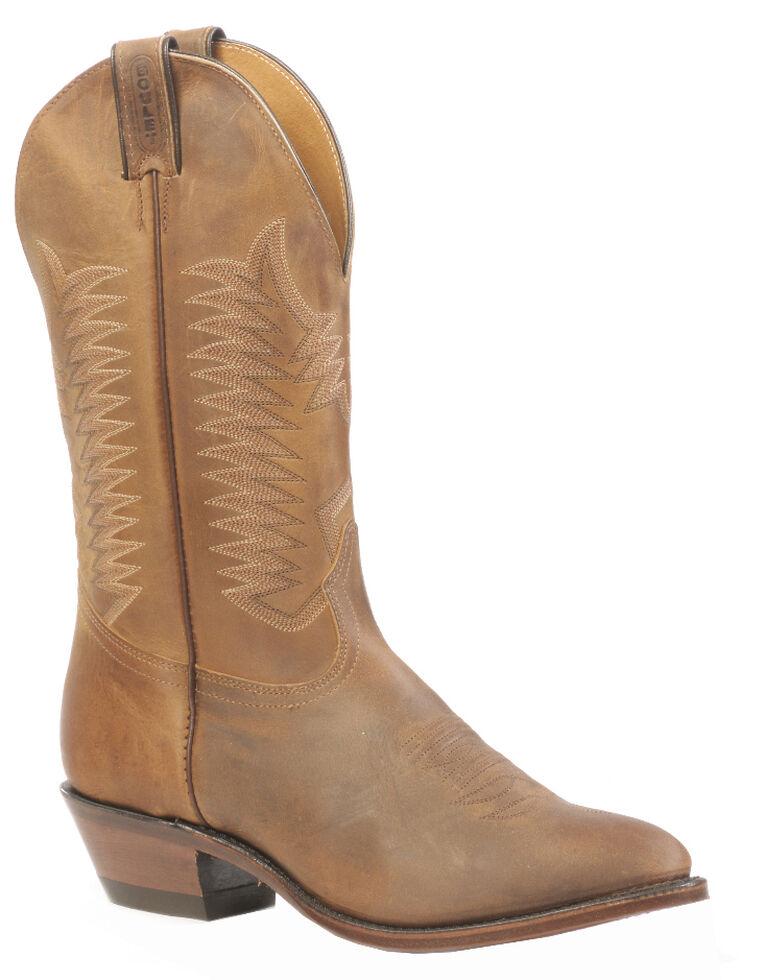 Boulet Women's Hillbilly Golden Rider Sole Boots - Medium Toe, Tan, hi-res