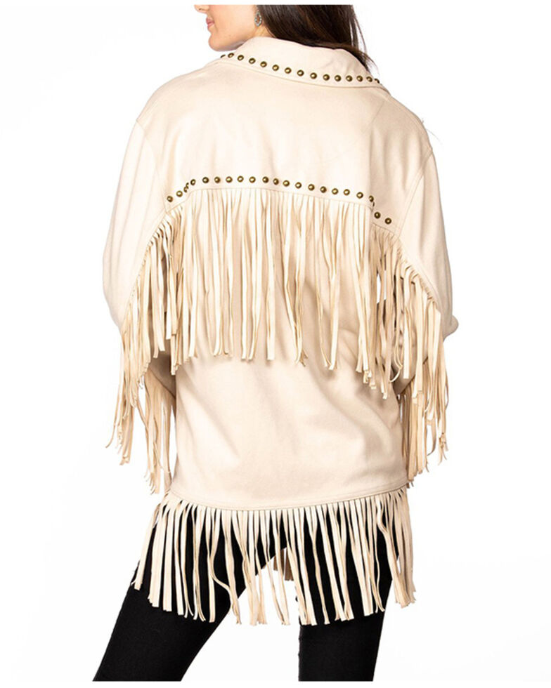 Double D Ranch Women's Off White Whitney Jacket , Off White, hi-res