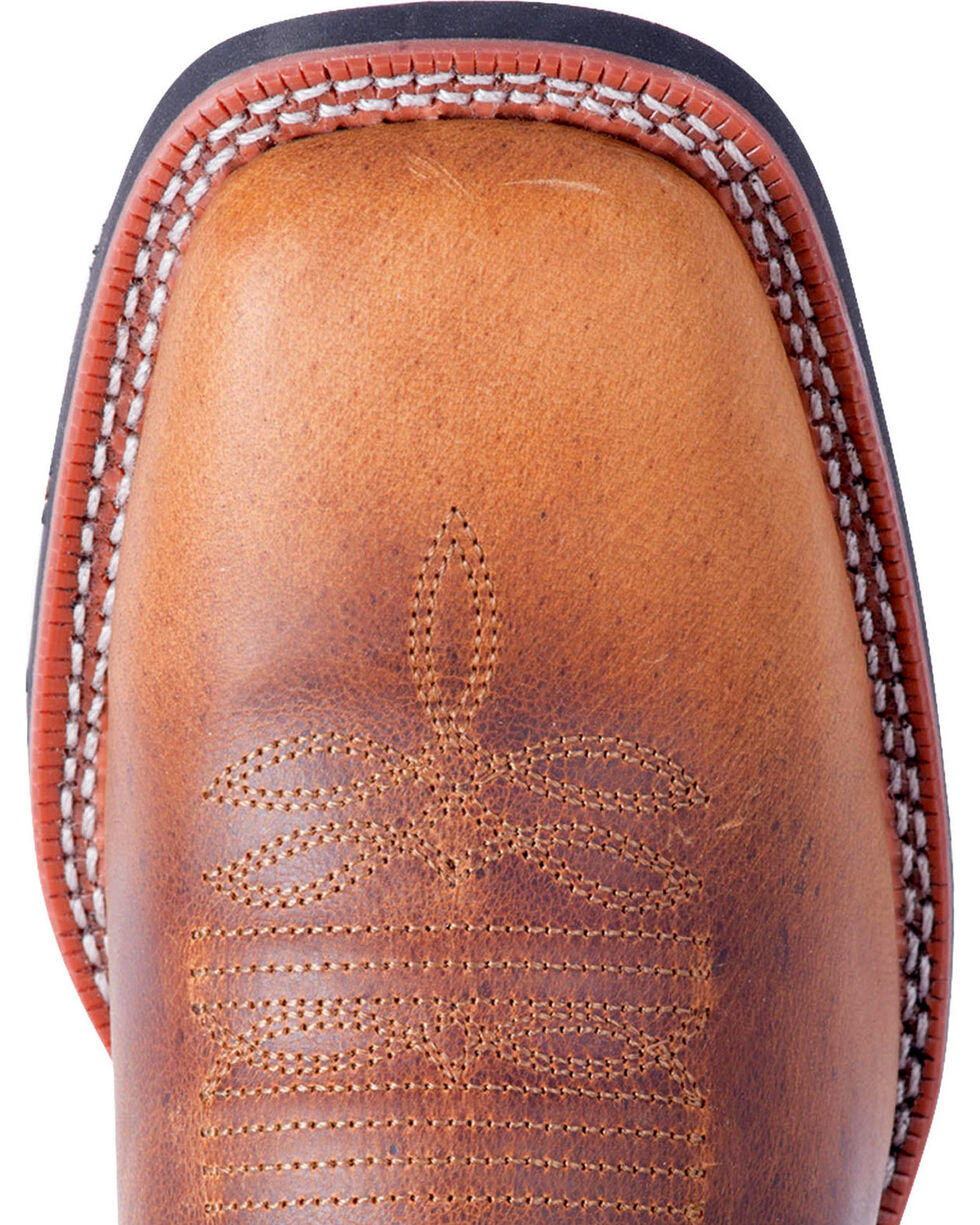 Laredo Men's Heath Distressed Western Boots - Square Toe, Tan, hi-res