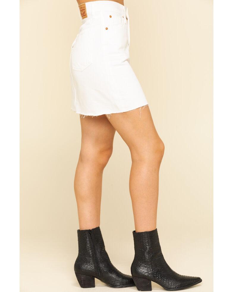 Levi's Women's White Decon Iconic Skirt, White, hi-res