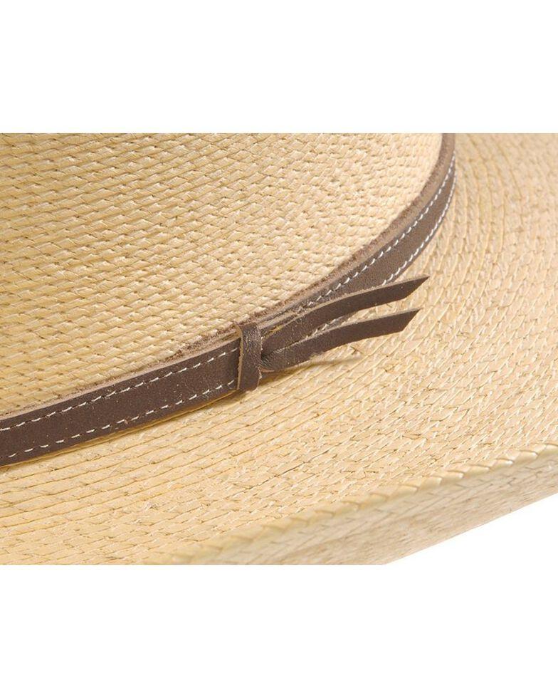 Atwood Hat Co. Kids Natural Palm Leaf Western Hat, Natural, hi-res