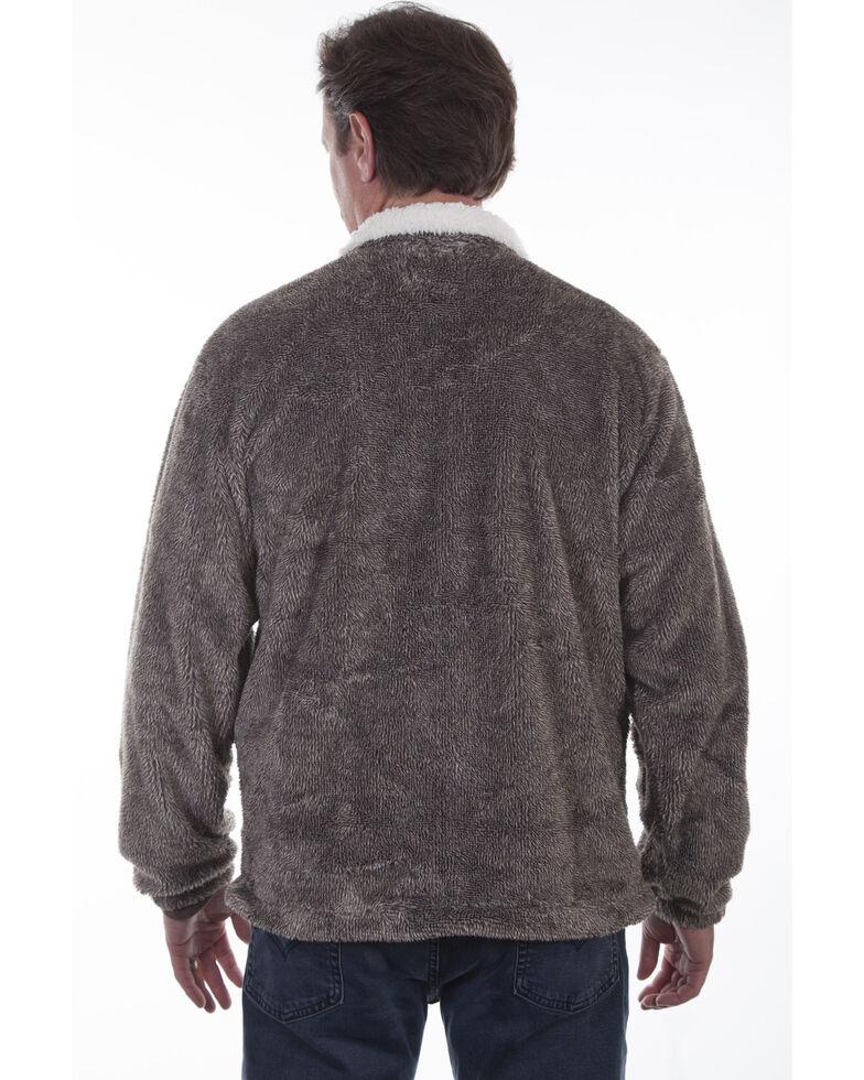 Scully Men's Plush Zip Front Jacket , Tan, hi-res