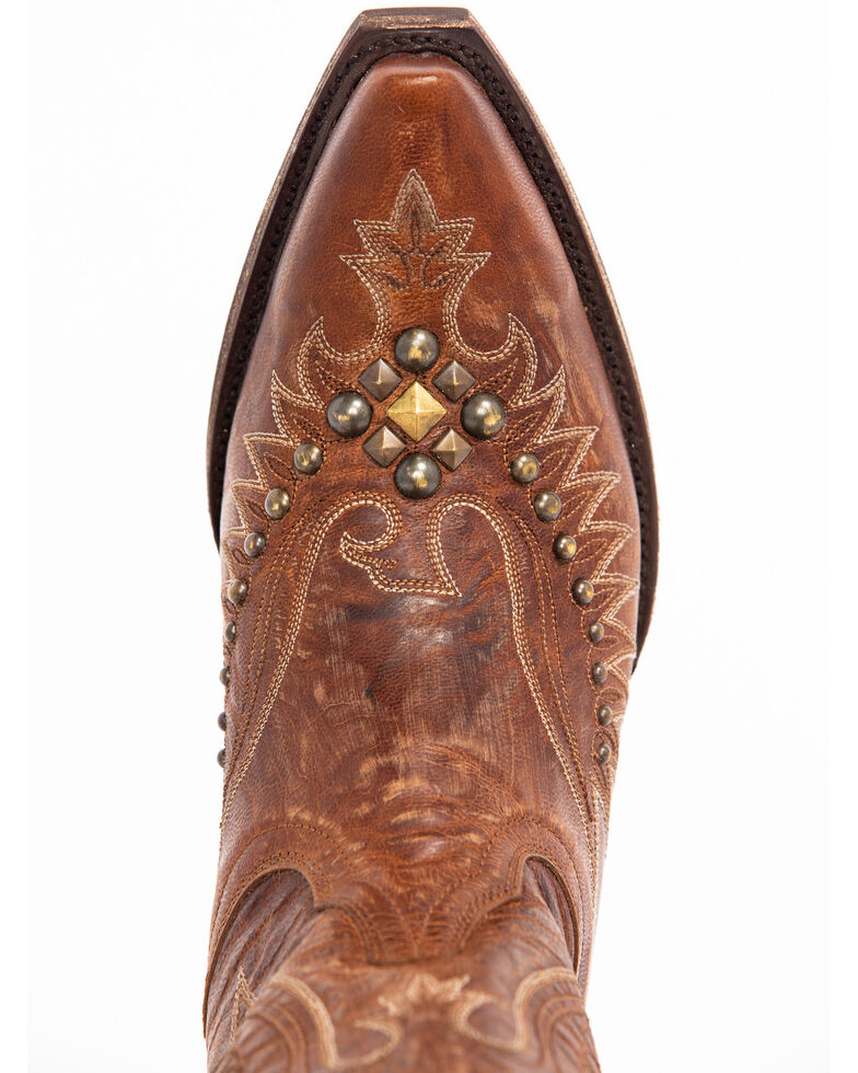 Idyllwind Women's Trouble Western Boots - Snip Toe, Brown, hi-res