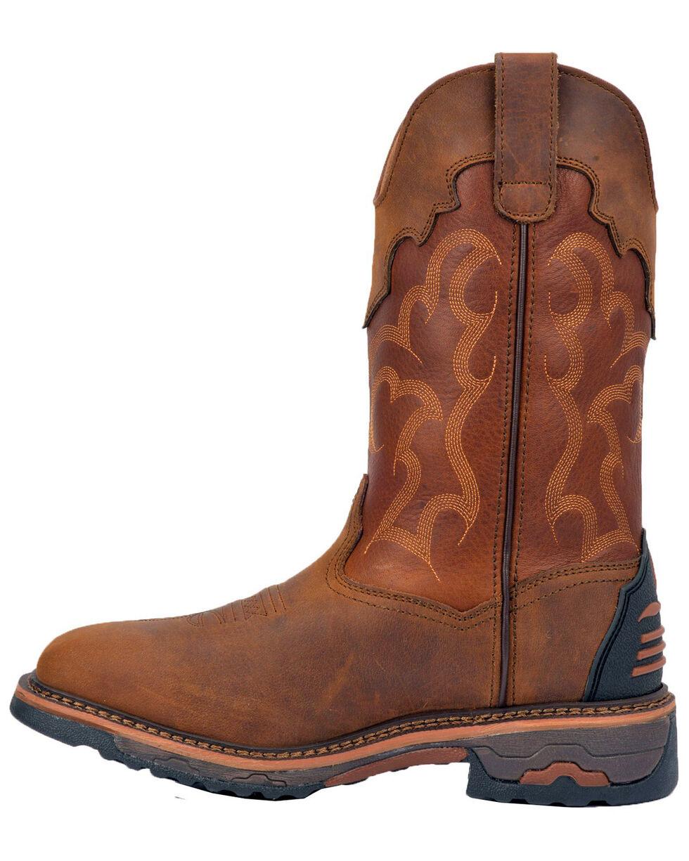 Laredo Men's Collins Western Boots - Square Toe, Tan/copper, hi-res