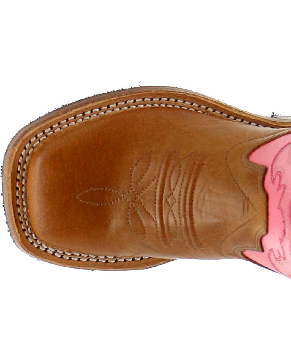 Shyanne Girls' Western Boots - Square Toe, Tan, hi-res
