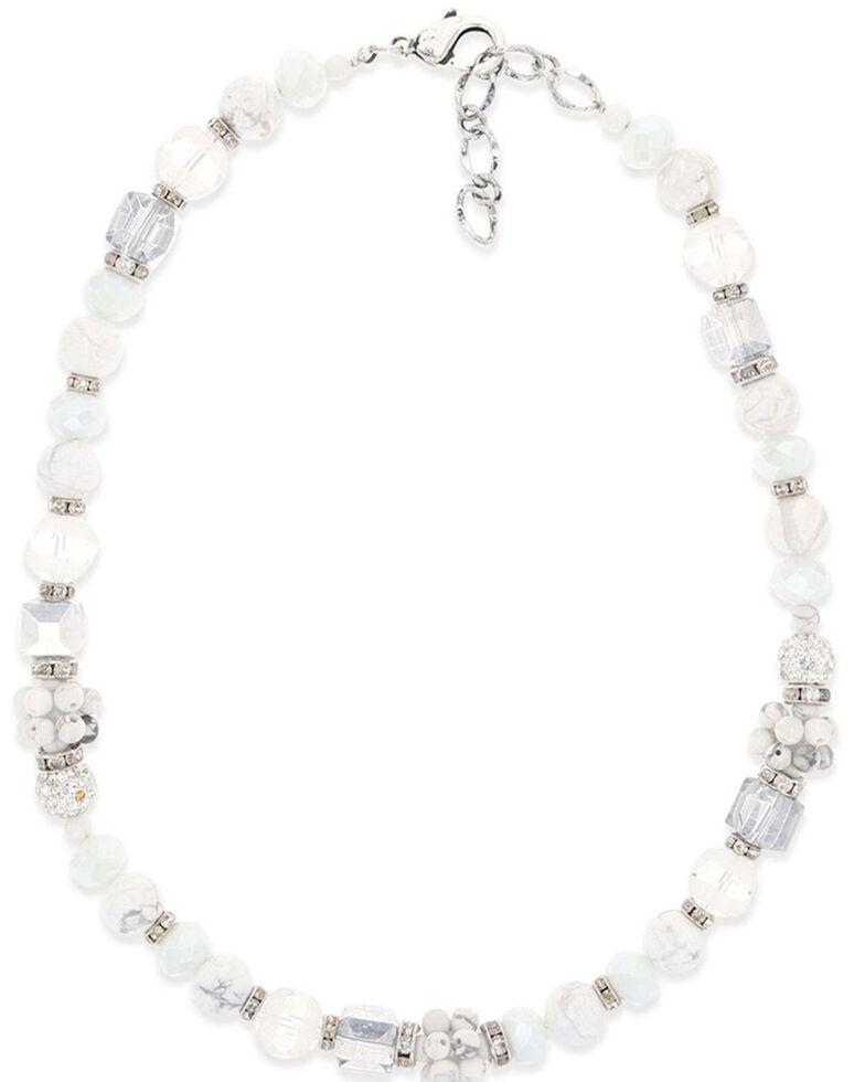 Montana Silversmiths Women's Snowy Choker Necklace, Silver, hi-res