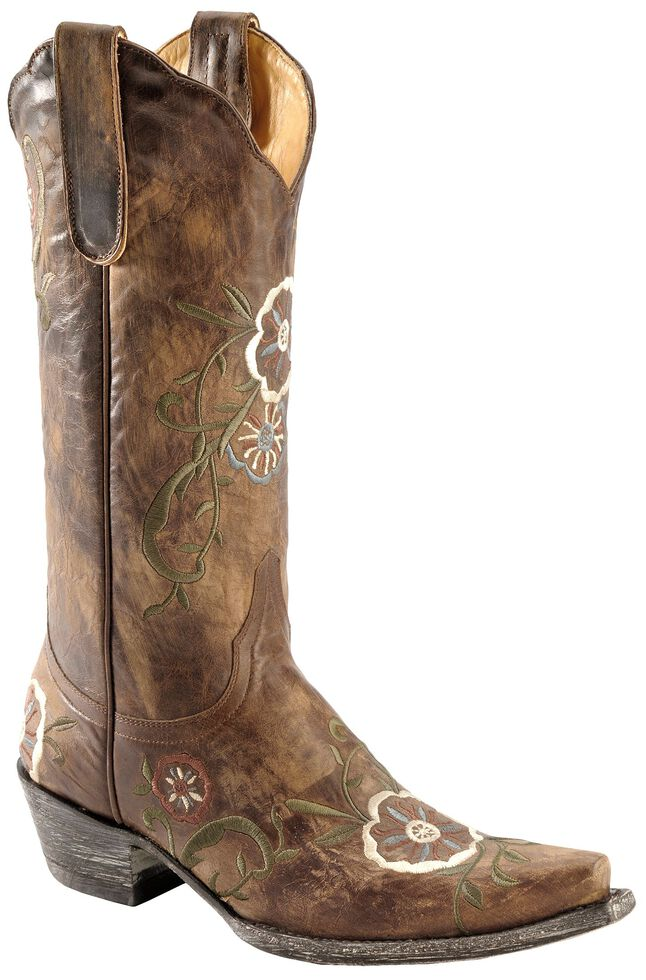 Old Gringo Women's Tyler Cowgirl Boots - Snip Toe, Brass, hi-res