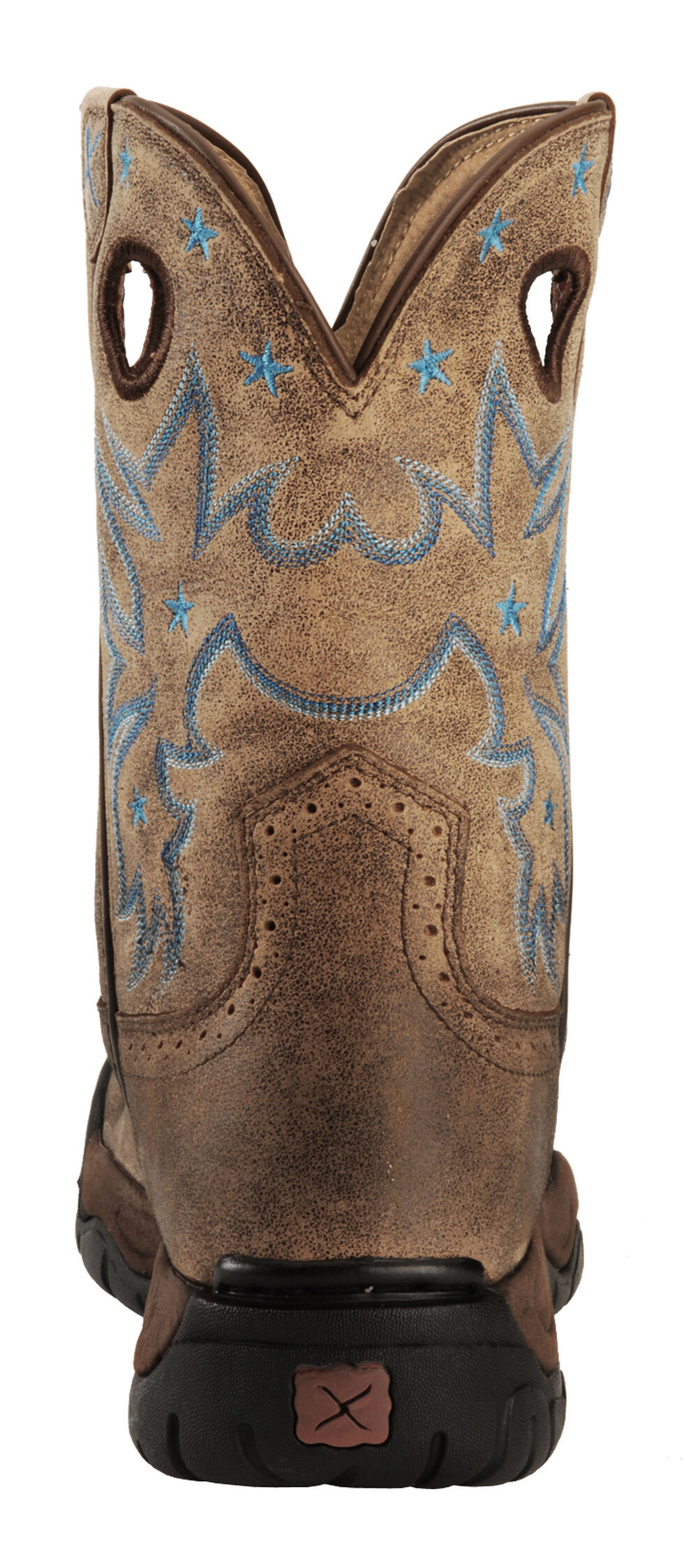 Twisted X Western Boots Womens Cowboy All Around Rubber Bomber WAB0004