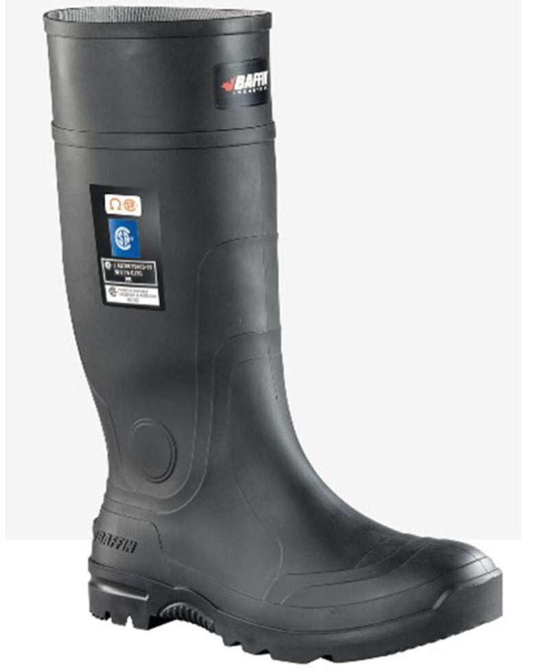 Baffin Men's Blackhawk Rubber Boots - Composite Toe, Black, hi-res