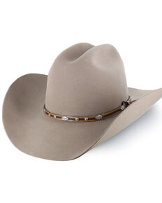Cody James Men's Denton 3X Pro Rodeo Brim Felt Cowboy Hat, Tan, hi-res