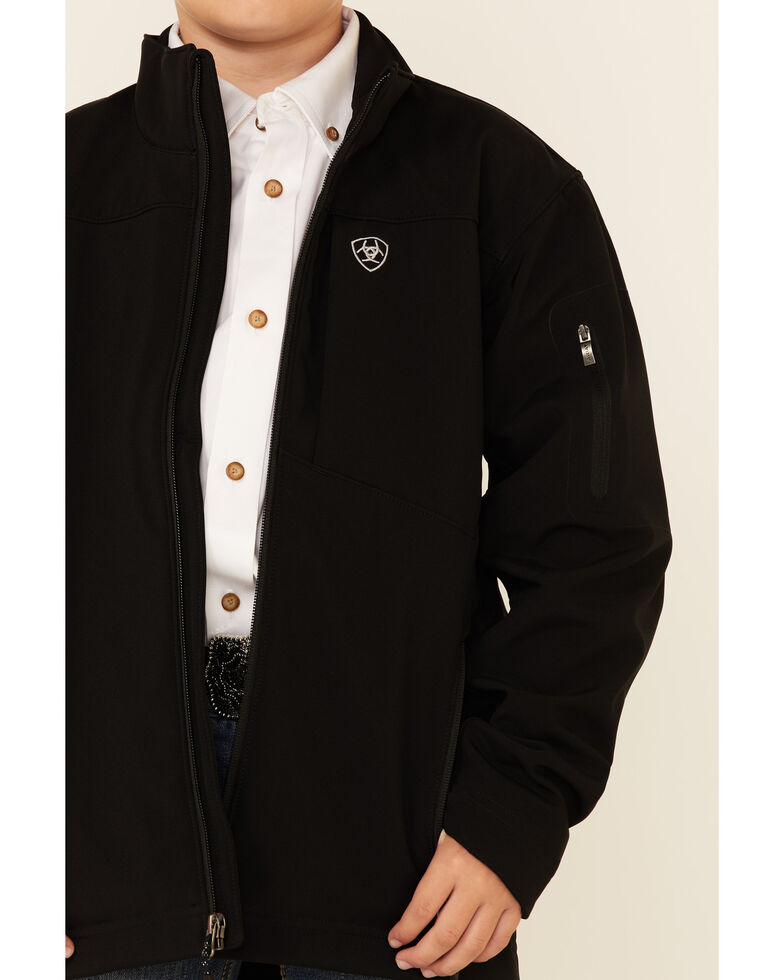 Ariat Boys' 2.0 Softshell Performance Stretch Jacket , Black, hi-res