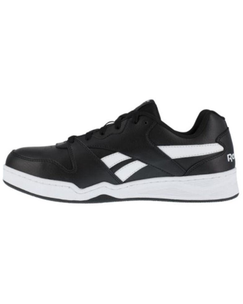 reebok Men's Casual Work Shoes - Composite Toe, Black, hi-res