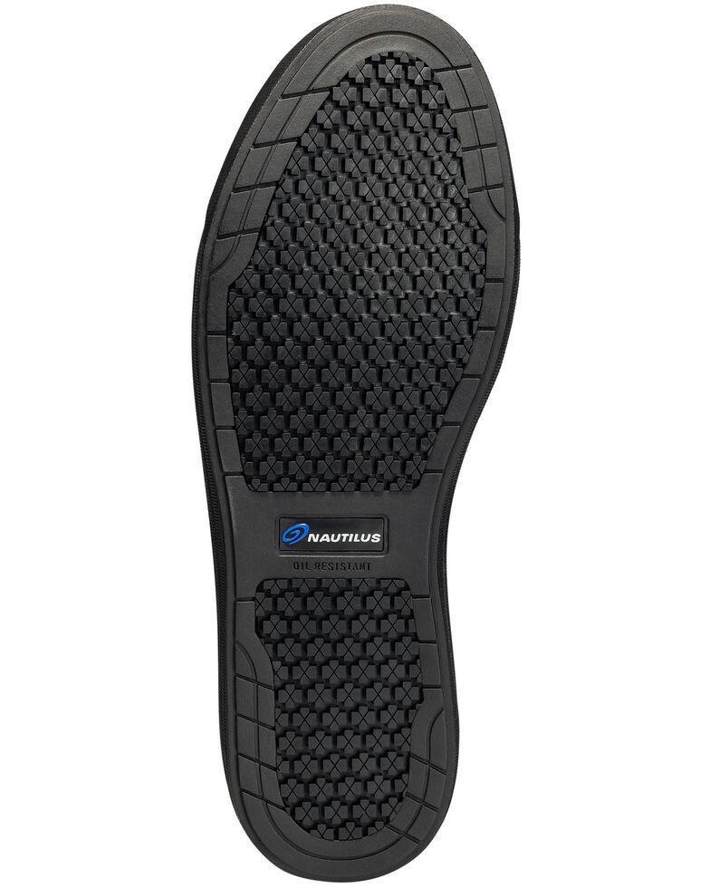 Nautilus Women's Westside Black Slip-On Work Shoes - Steel Toe, Black, hi-res