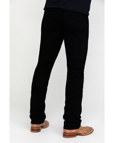 Cody James Men's Night Rider Rigid Slim Straight Jeans , Black, hi-res