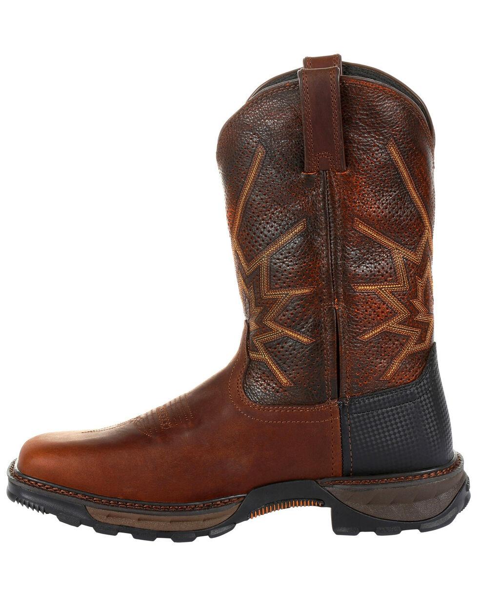 Durango Men's Maverick XP Ventilated Western Work Boots - Square Toe, Brown, hi-res