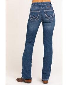 Wrangler Women's Ultimate Riding Williow Lovette Bootcut Jeans, Blue, hi-res