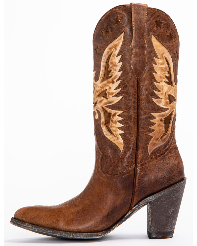 Idyllwind Women's Vice Western Boots - Pointed Toe, Brown, hi-res