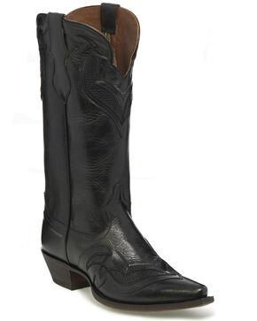 Justin Women's Black Nadya Western Boots - Snip Toe, Black, hi-res