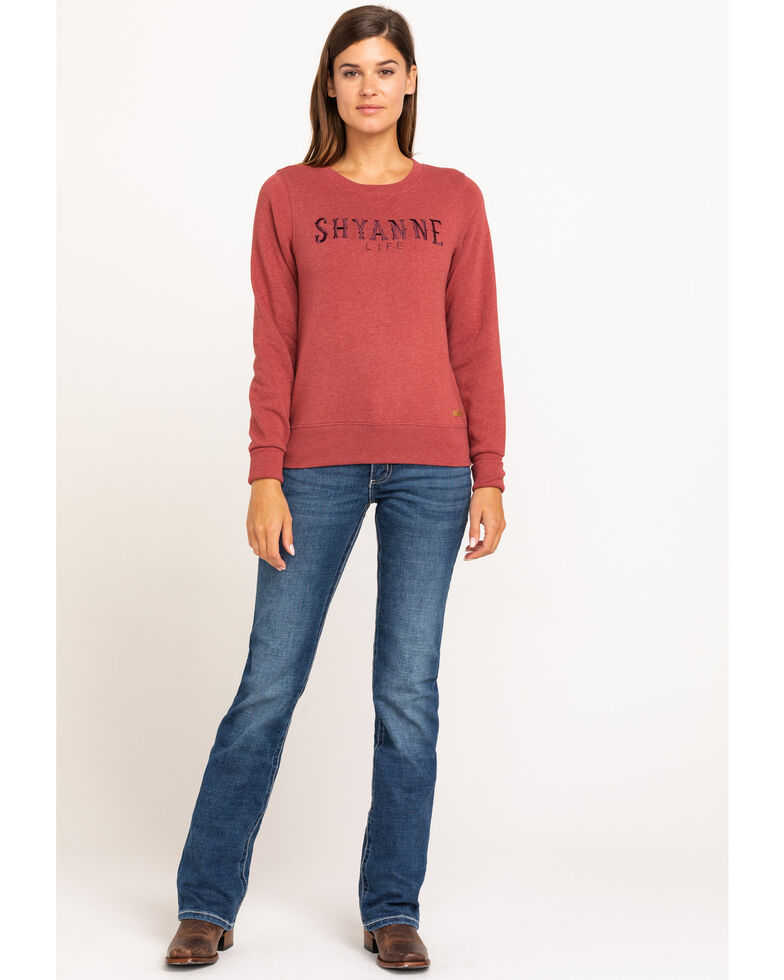 Wrangler Women's Ultimate Riding Williow Lovette Bootleg Jeans, Blue, hi-res