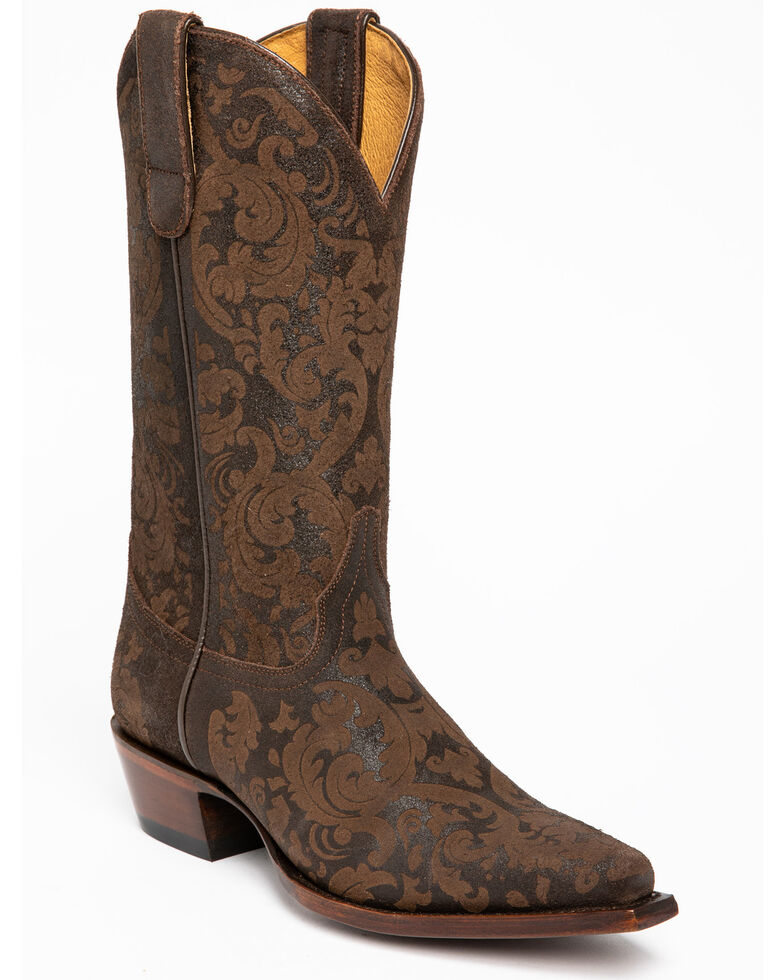 Shyanne Women's Firefly Western Boots - Snip Toe, Brown, hi-res