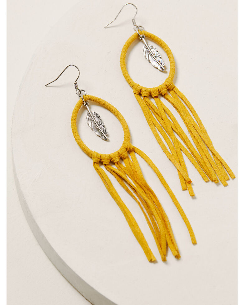 Idyllwind Women's Twist & Turn Tassel Earrings, Silver, hi-res