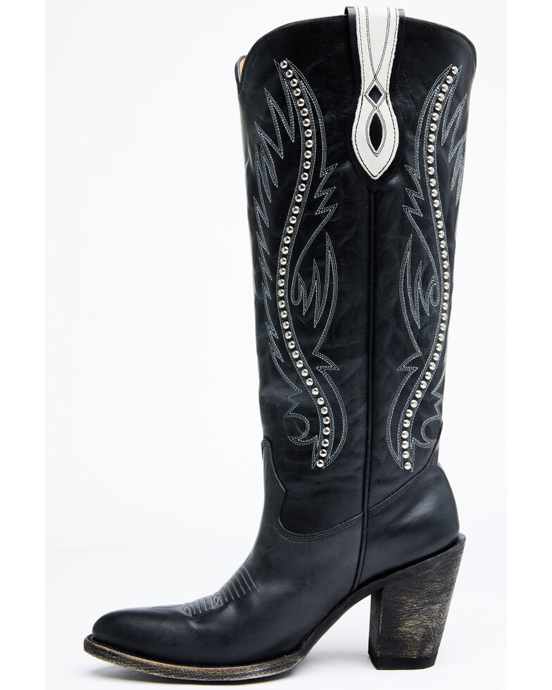 Idyllwind Women's Cash Western Boots - Round Toe, Black, hi-res