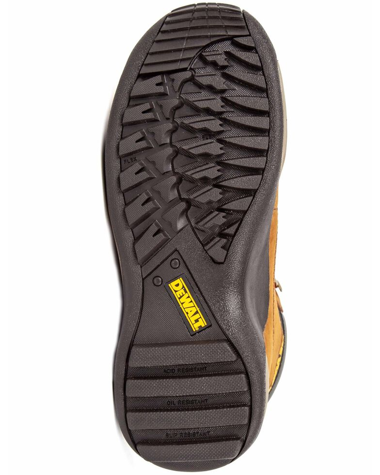 DeWalt Women's Apprentice Lace-Up Work Boots - Steel Toe, Suntan, hi-res