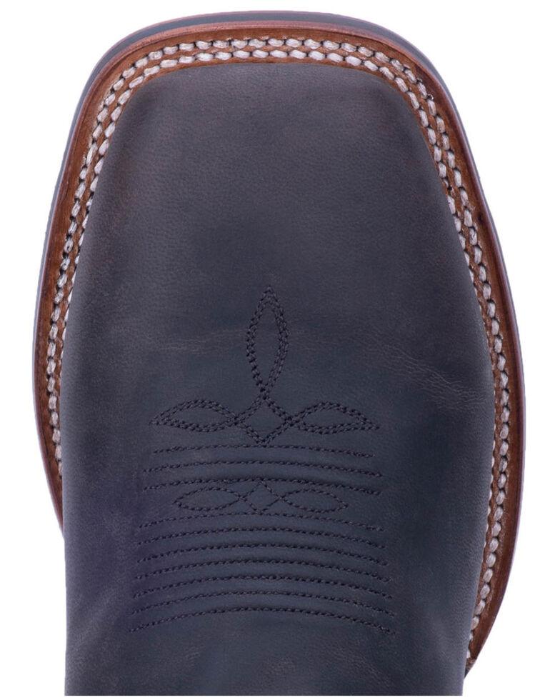 Dan Post Men's Winslow Western Boots - Wide Square Toe, Black, hi-res