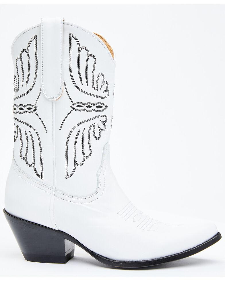 Idyllwind Women's Ace White Western Boots - Round Toe, White, hi-res