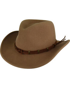 Bailey Men's Taupe Holster Hat , Taupe, hi-res