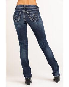 Silver Women's Medium Suki Straight Jeans, Indigo, hi-res