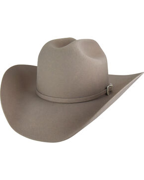 Bailey Men's Silver Belly Lightning 4X Cowboy Hat , Silver Belly, hi-res
