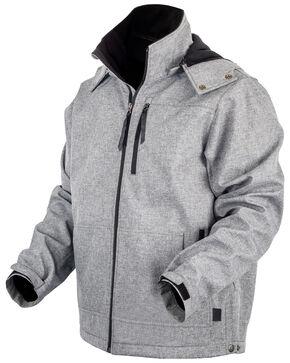 STS Ranchwear Men's Light Grey Barrier Jacket , Heather Grey, hi-res