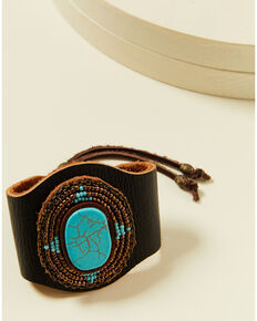 Idyllwind Women's Crossing Roads Turquoise Bracelet, Brown, hi-res