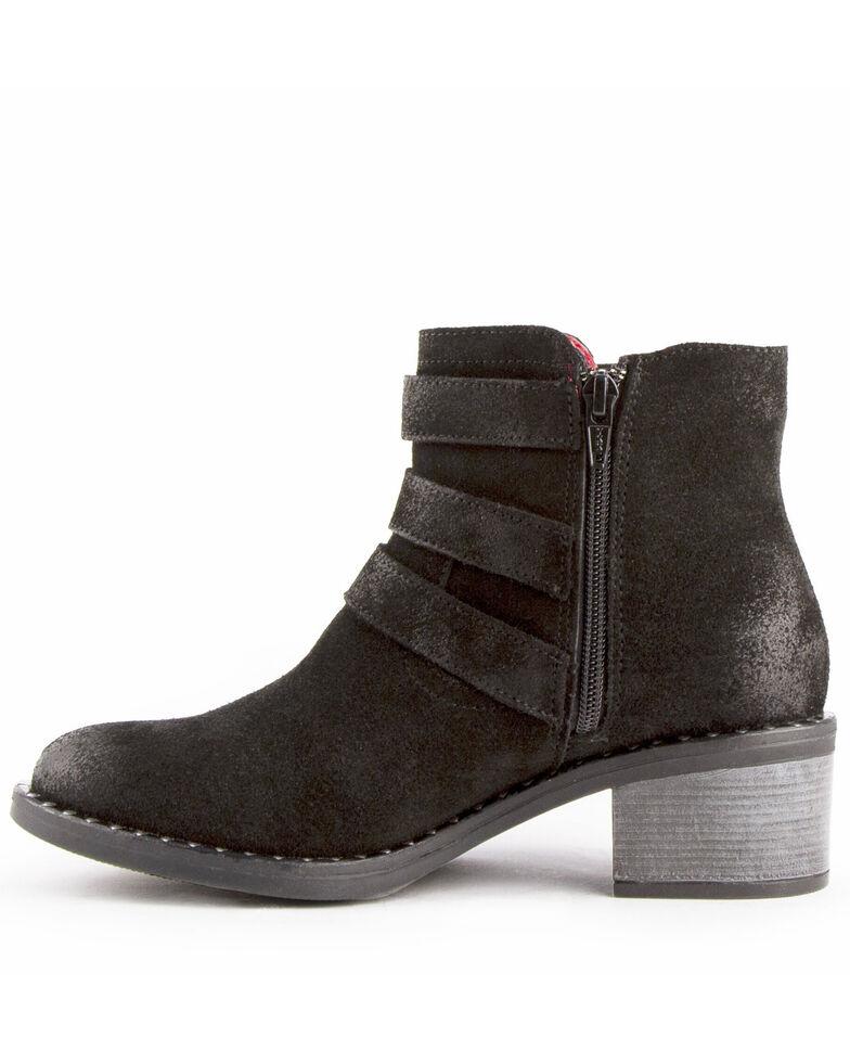 Ferrini Women's Mollie Fashion Booties - Round Toe, Black, hi-res