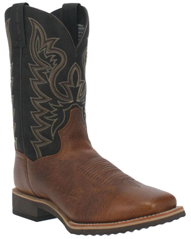 Dan Post Men's Boldon Western Boots - Wide Square Toe, Brown, hi-res