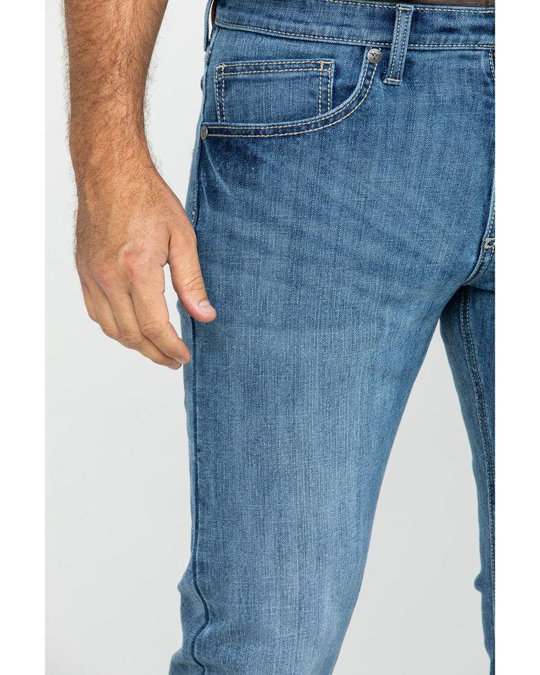 Wrangler 20X Men's Jefferson Vintage Stretch Dark Boot Jeans , Blue, hi-res