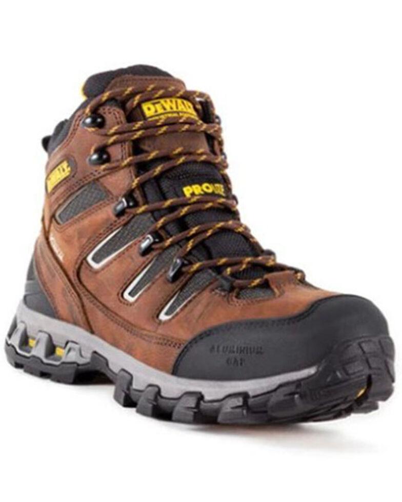 DeWalt Men's Argon Waterproof Work Boots - Aluminum Toe, Brown, hi-res