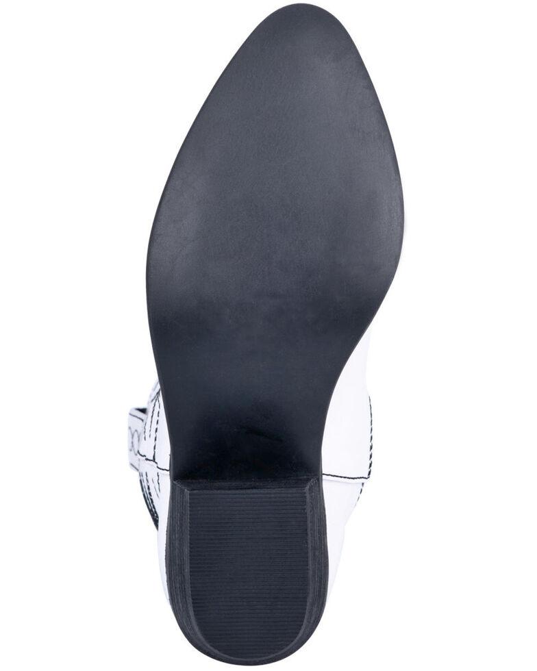 Dingo Women's White Rockstar Western Boots - Round Toe, White, hi-res