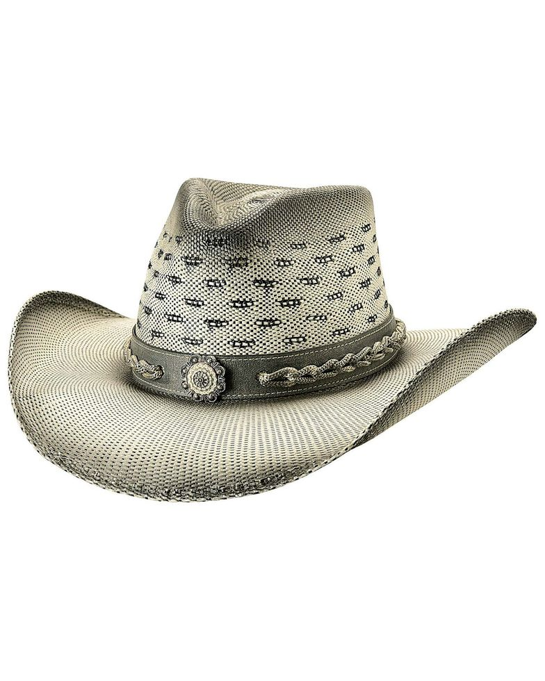 Bullhide Women's Not Alike Straw Hat, Natural, hi-res