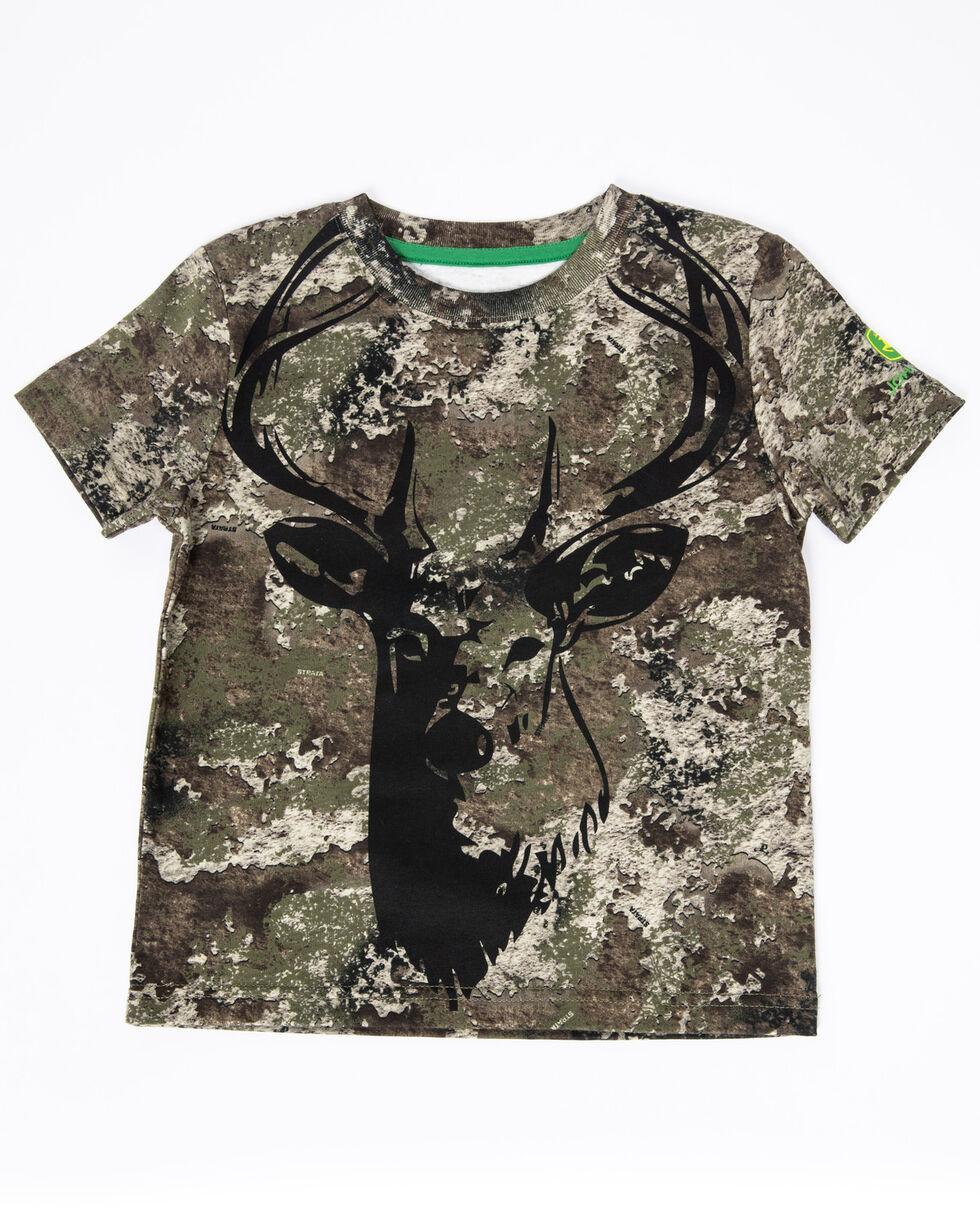 John Deere Toddler Boys' Camo Deer Graphic T-Shirt , Camouflage, hi-res