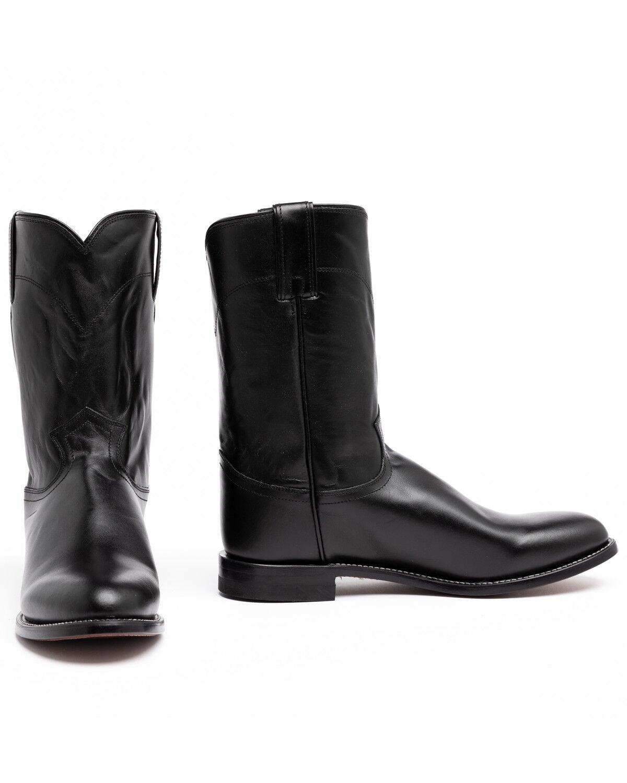 Justin Classic Roper Cowboy Boots , Round Toe