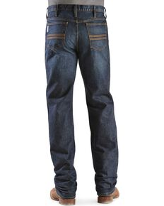 Cinch Silver Label Dark Wash Jeans - Big & Tall, Dark Stone, hi-res