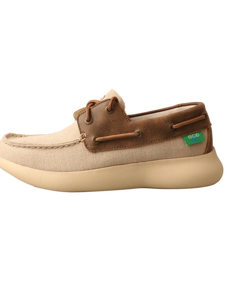 Twisted X Women's Reva 12 Driving Shoes - Moc Toe, Beige/khaki, hi-res