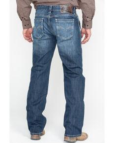 Rock & Roll Denim Men's Reflex Double Barrel Straight Leg Jeans, Blue, hi-res