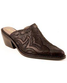 Roper Fashion Mule Slides, Black, hi-res