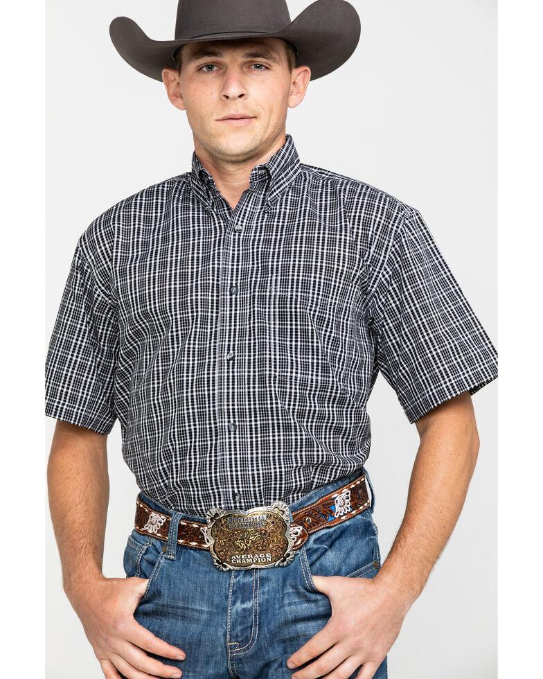 Wrangler Riata Men's Assorted Plaid Short Sleeve Western Shirt, Multi, hi-res
