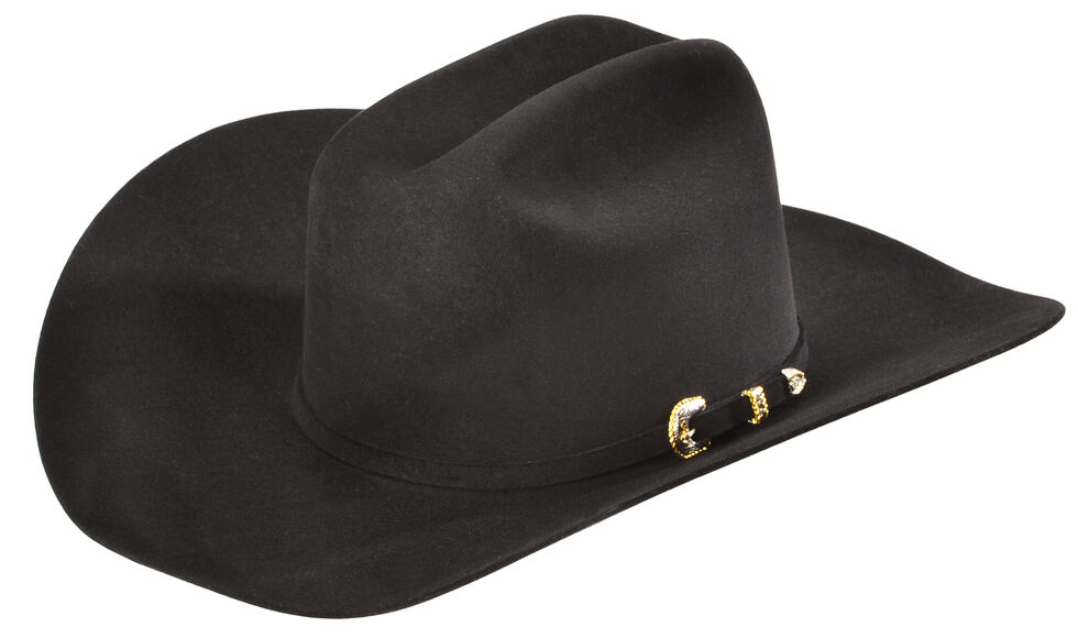 Serratelli Men S Black 10x Fur Felt Austin Cowboy Hat Country 99125cb489a1