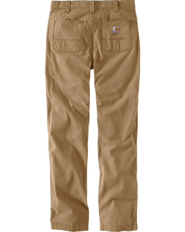 Carhartt Men's Rugged Flex Rigby Straight-Fit Pants - Straight Leg , Beige/khaki, hi-res