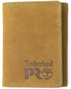Timberland Pro Men's Wheat Basic Trifold Wallet, Wheat, hi-res